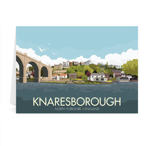 Knaresborough, Yorkshire Greeting Card 7x5