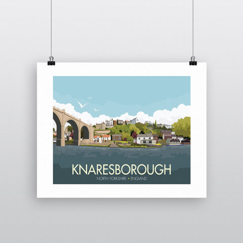 Knaresborough, Yorkshire 90x120cm Fine Art Print