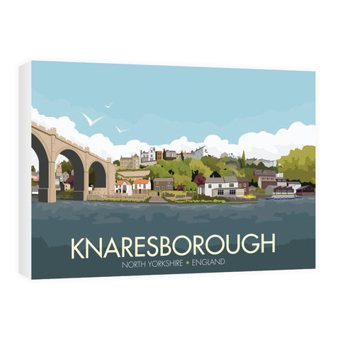 Knaresborough, Yorkshire 60cm x 80cm Canvas
