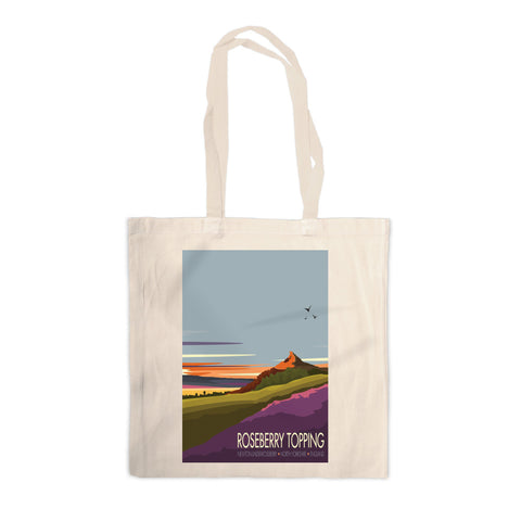 Roseberry Topping, Yorkshire Canvas Tote Bag