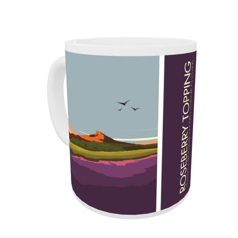 Roseberry Topping, Yorkshire Coloured Insert Mug