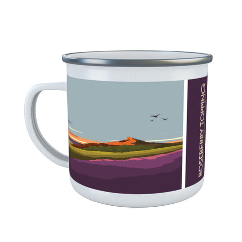 Roseberry Topping, Yorkshire Enamel Mug