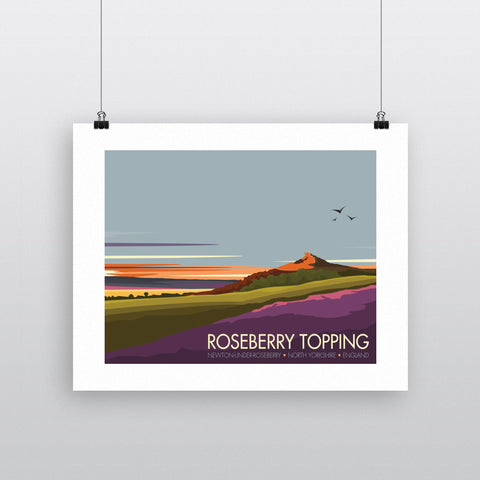 Roseberry Topping, Yorkshire 90x120cm Fine Art Print
