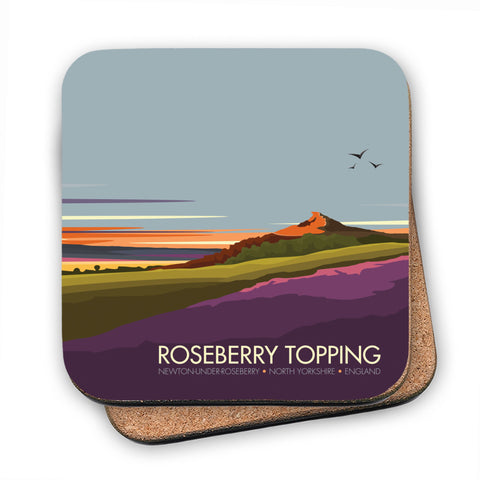 Roseberry Topping, Yorkshire MDF Coaster