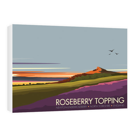 Roseberry Topping, Yorkshire 60cm x 80cm Canvas