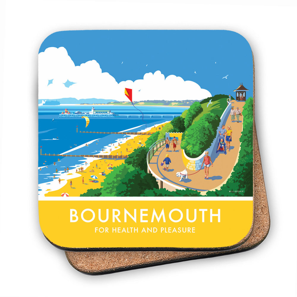 Bournemouth, Dorset MDF Coaster