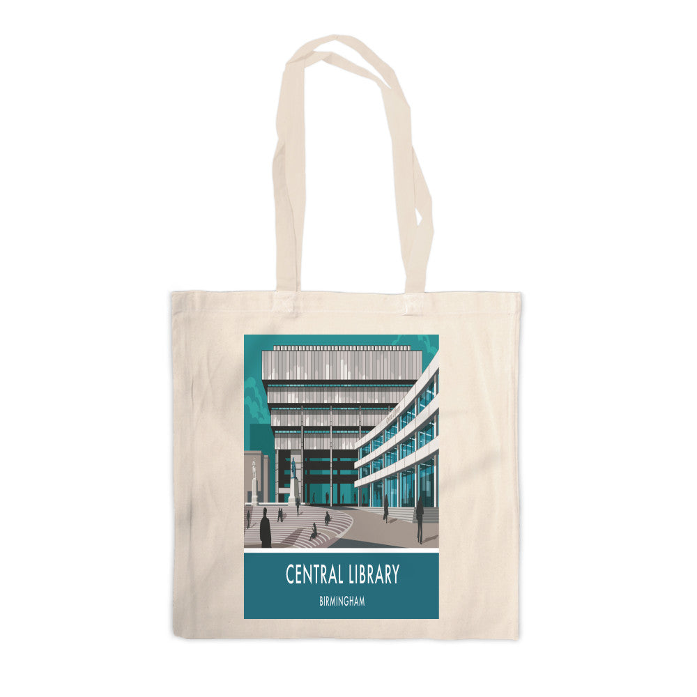 Central Library, Birmingham, West Midlands Canvas Tote Bag