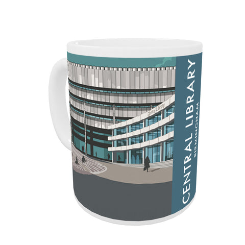 Central Library, Birmingham, West Midlands Mug