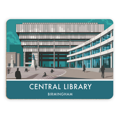 Central Library, Birmingham, West Midlands Placemat
