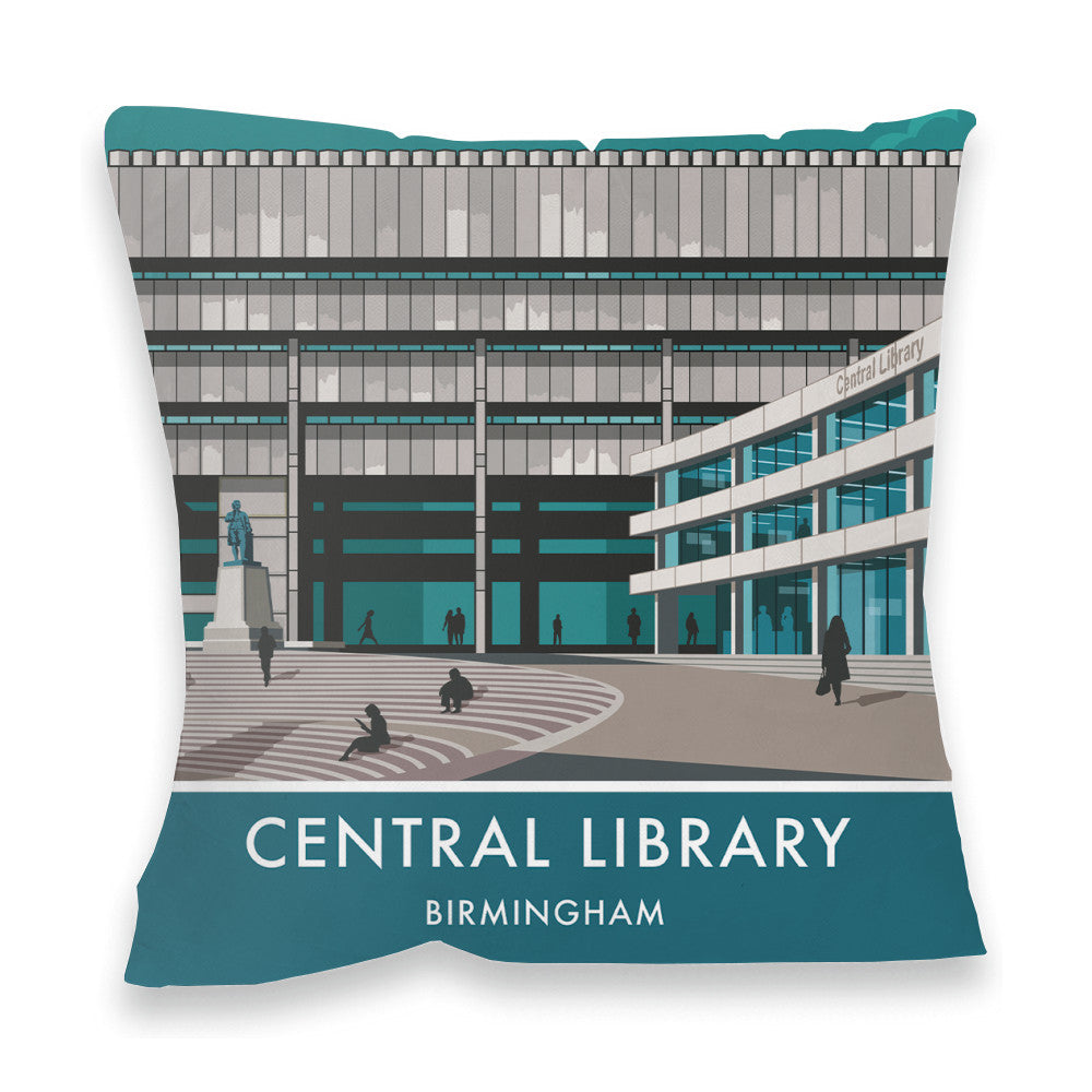 Central Library, Birmingham, West Midlands Fibre Filled Cushion