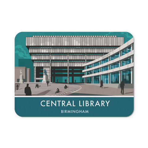 Central Library, Birmingham, West Midlands Mouse mat