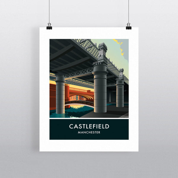 Castlefield, Manchester, Cheshire 11x14 Print