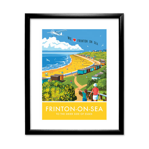 Frinton on Sea, Essex 11x14 Framed Print (Black)
