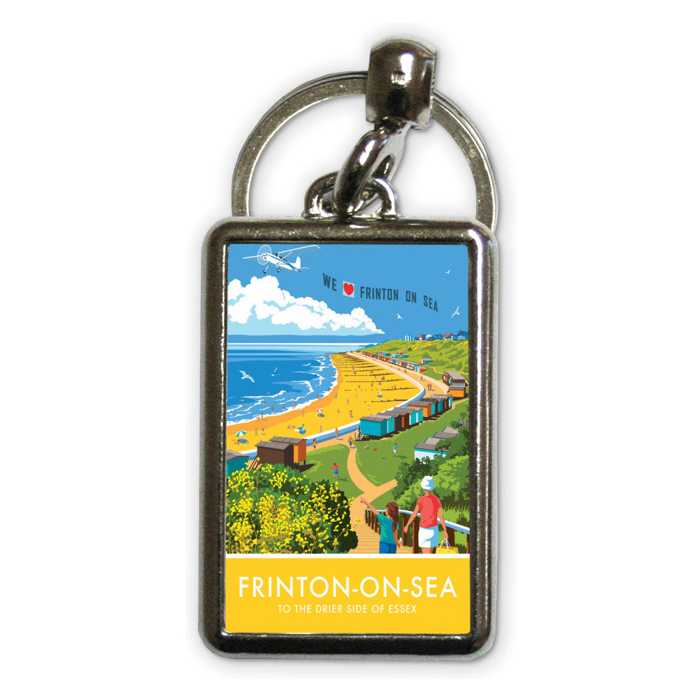 Frinton on Sea, Essex Metal Keyring