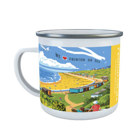 Frinton on Sea, Essex Enamel Mug