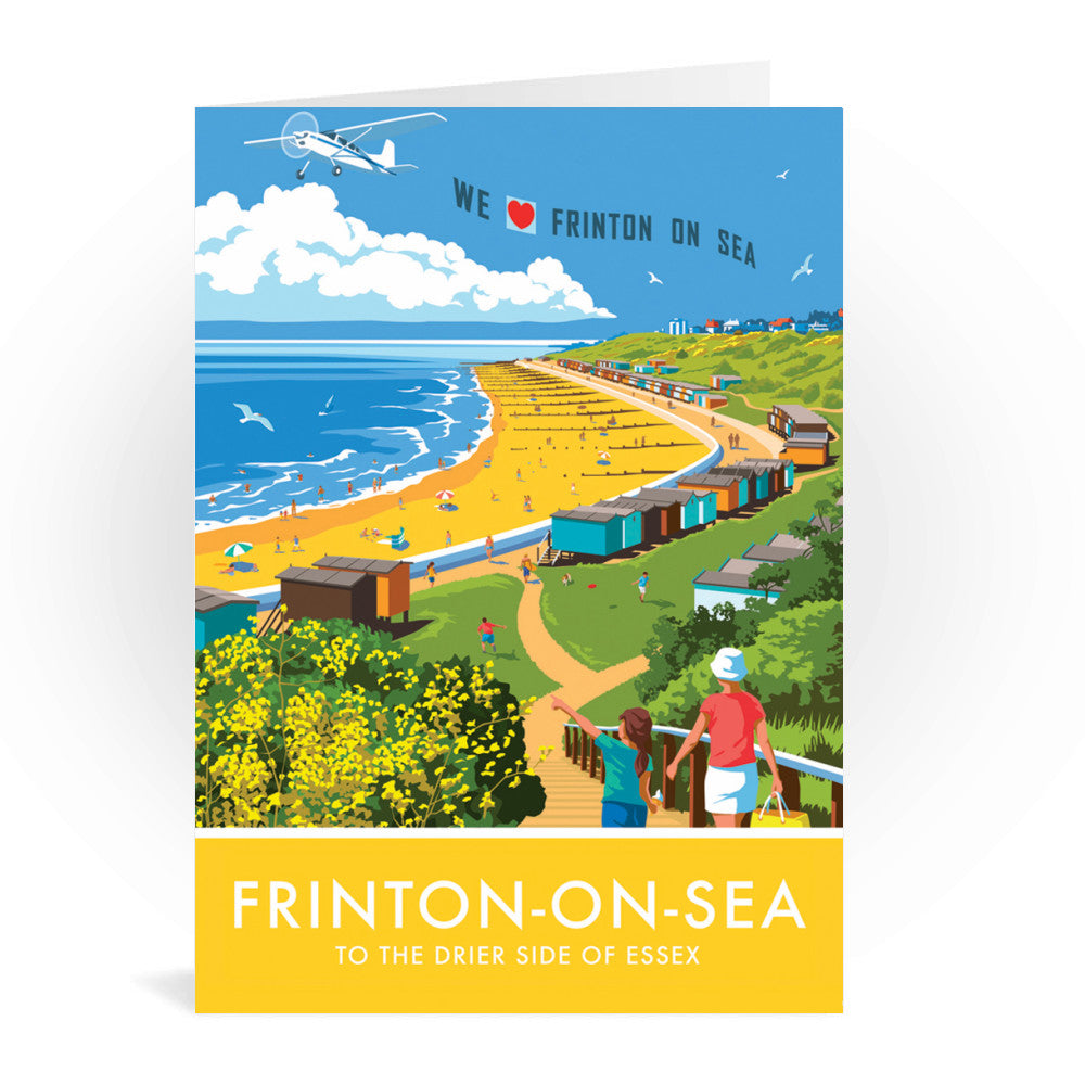 Frinton on Sea, Essex Greeting Card 7x5