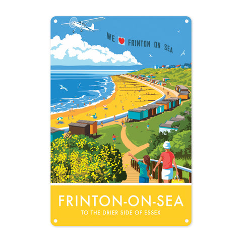 Frinton on Sea, Essex Metal Sign