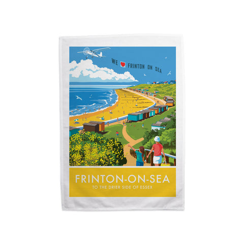 Frinton on Sea, Essex Tea Towel
