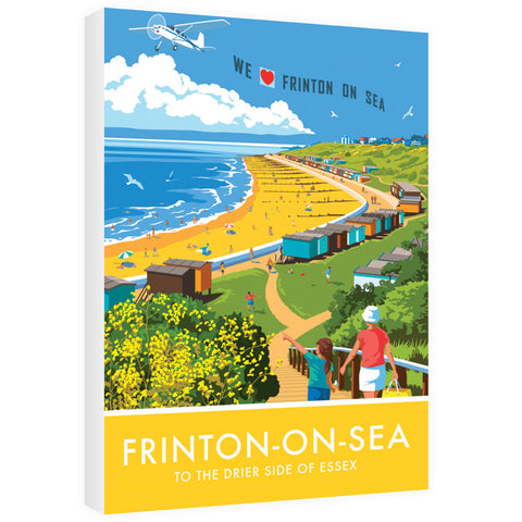 Frinton on Sea, Essex 60cm x 80cm Canvas