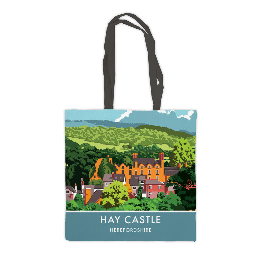 Hay Castle, Herefordshire Premium Tote Bag