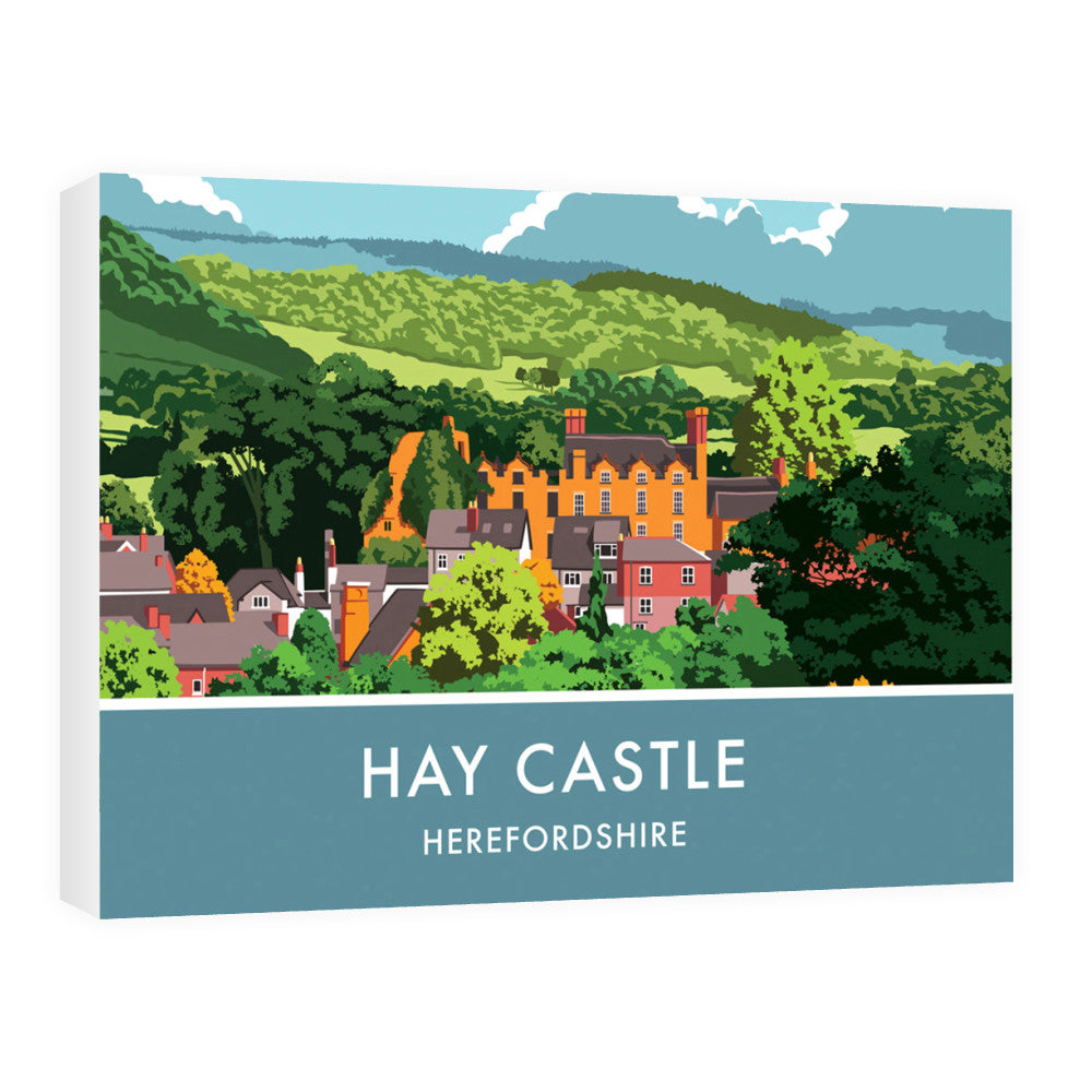 Hay Castle, Herefordshire 60cm x 80cm Canvas