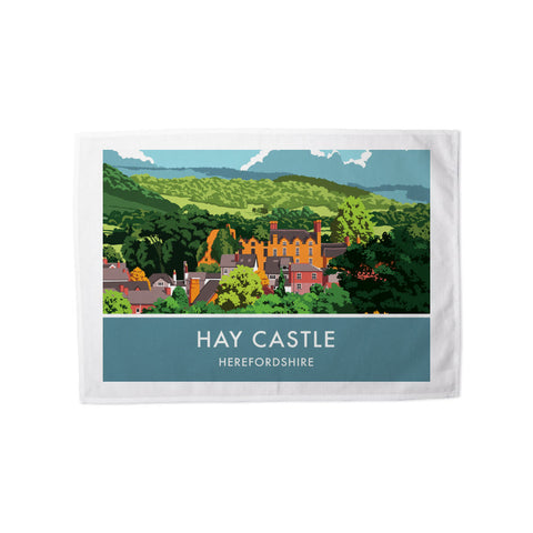Hay Castle, Herefordshire Tea Towel
