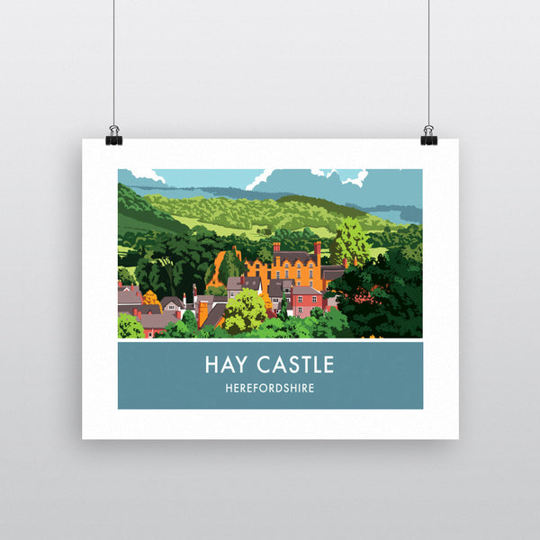 Hay Castle, Herefordshire 11x14 Print