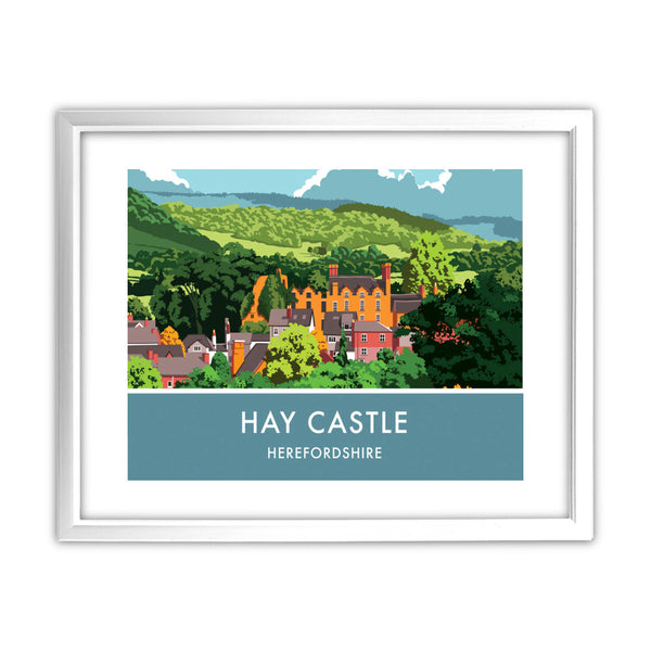 Hay Castle, Herefordshire 11x14 Framed Print (White)