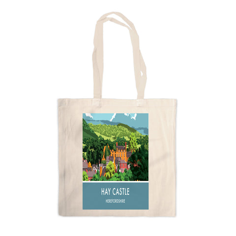 Hay Castle, Herefordshire Canvas Tote Bag