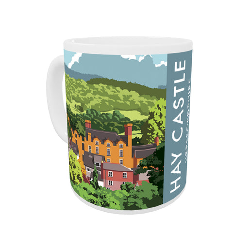 Hay Castle, Herefordshire Coloured Insert Mug