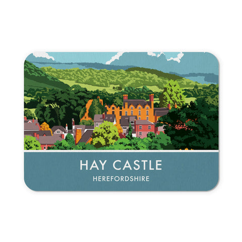 Hay Castle, Herefordshire Mouse mat