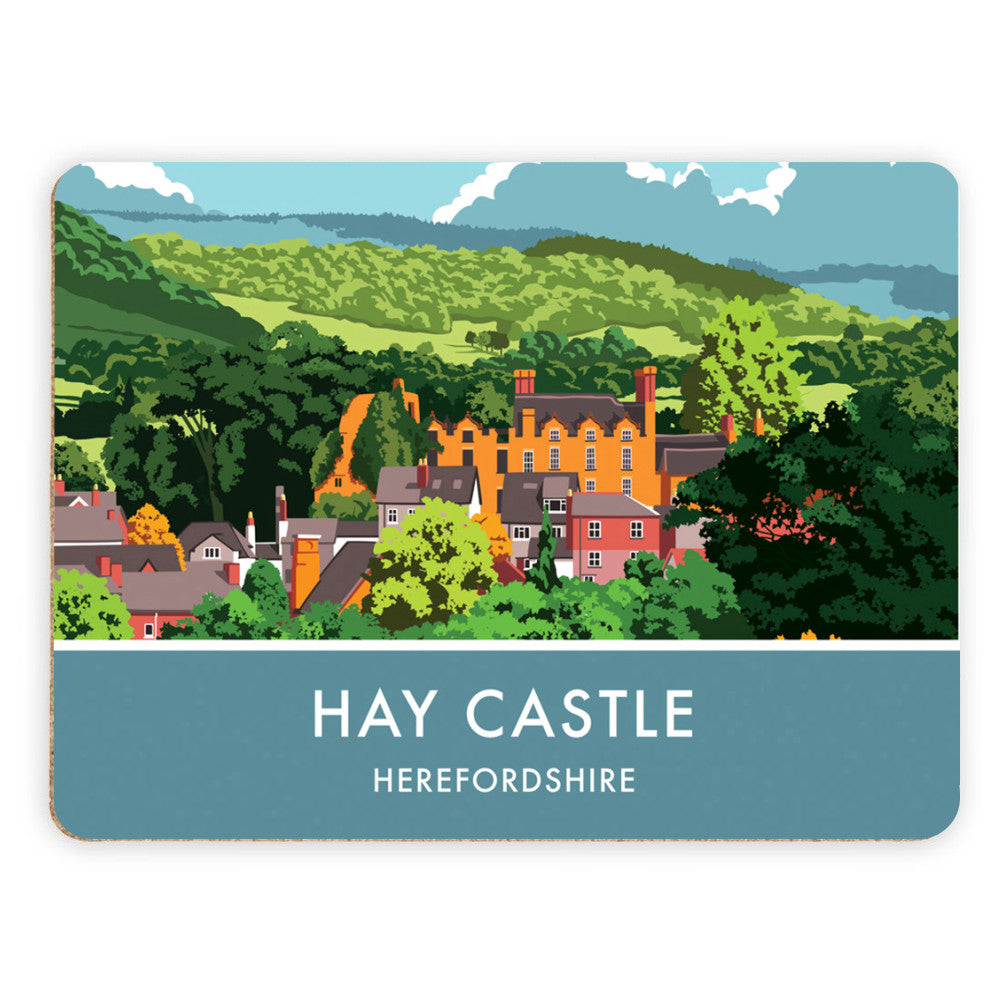Hay Castle, Herefordshire Placemat