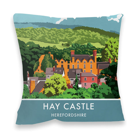 Hay Castle, Herefordshire Fibre Filled Cushion