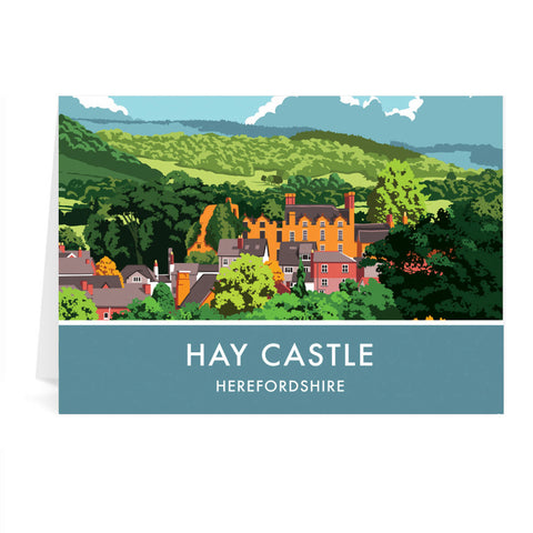 Hay Castle, Herefordshire Greeting Card 7x5