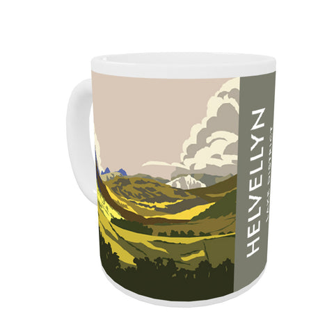 Helvellyn, Lake District, Cumbria Coloured Insert Mug