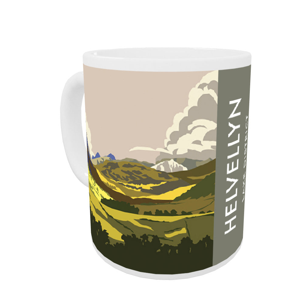Helvellyn, Lake District, Cumbria Mug