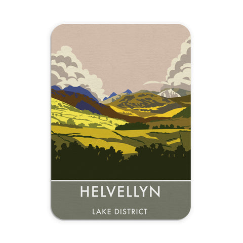 Helvellyn, Lake District, Cumbria Mouse mat