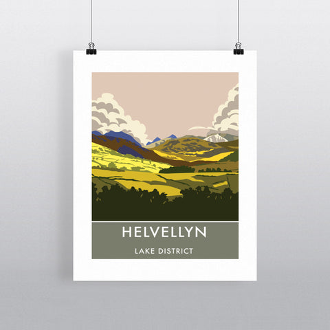 Helvellyn, Lake District, Cumbria 90x120cm Fine Art Print