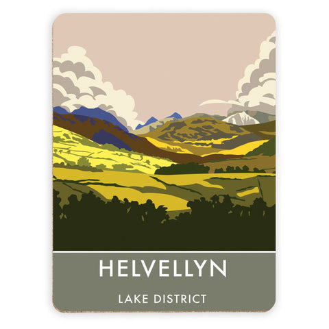 Helvellyn, Lake District, Cumbria Placemat