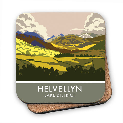 Helvellyn, Lake District, Cumbria MDF Coaster