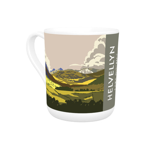 Helvellyn, Lake District, Cumbria Bone China Mug