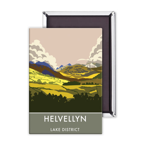 Helvellyn, Lake District, Cumbria Magnet