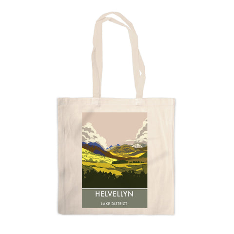 Helvellyn, Lake District, Cumbria Canvas Tote Bag