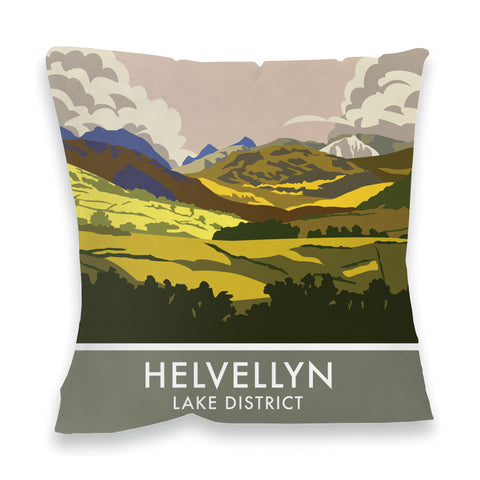 Helvellyn, Lake District, Cumbria Fibre Filled Cushion
