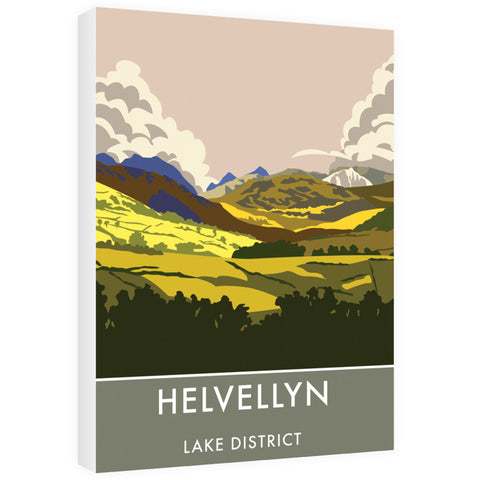 Helvellyn, Lake District, Cumbria 60cm x 80cm Canvas