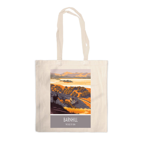 Barnhill, The Isle of Jura, Scotland Canvas Tote Bag