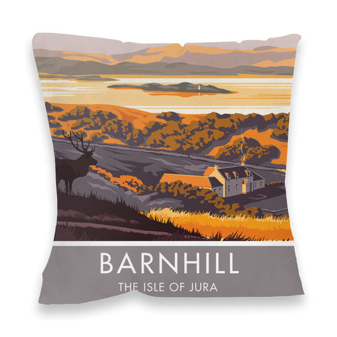Barnhill, The Isle of Jura, Scotland Fibre Filled Cushion