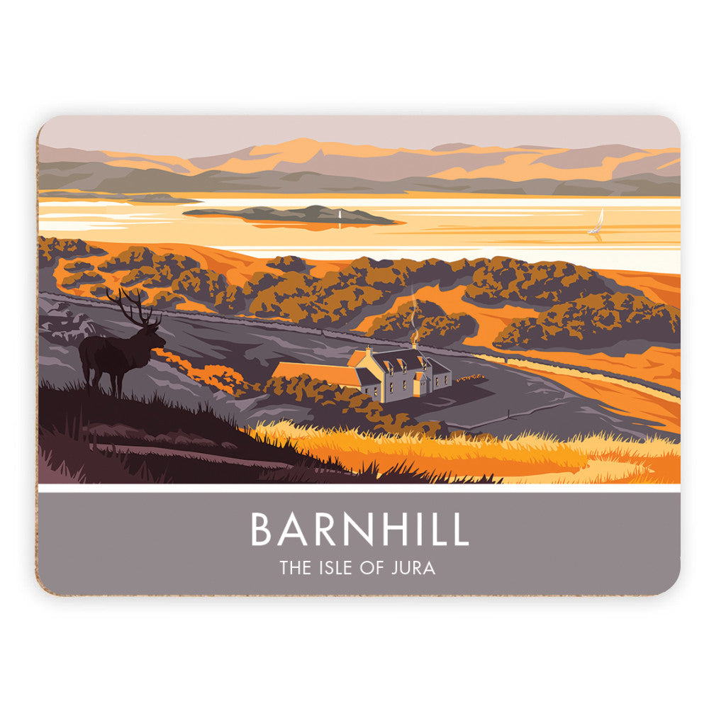 Barnhill, The Isle of Jura, Scotland Placemat