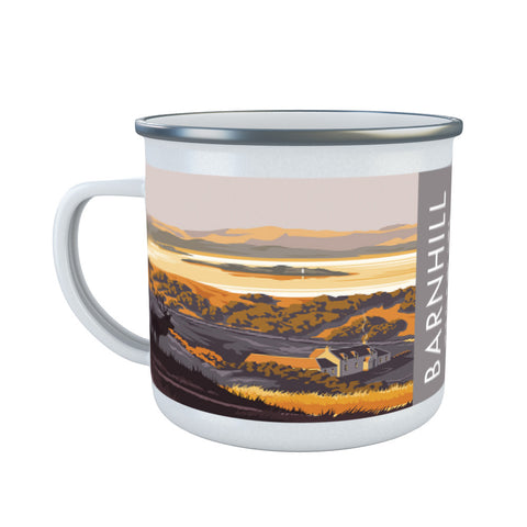 Barnhill, The Isle of Jura, Scotland Enamel Mug