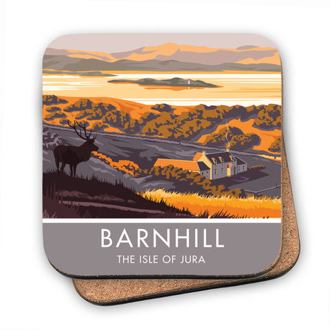 Barnhill, The Isle of Jura, Scotland MDF Coaster